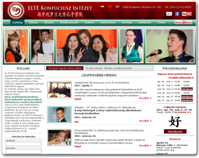 ELTE Confucius Institute website